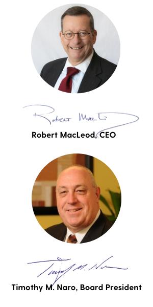 Robert MacLeod, CEO, Tim Naro, President